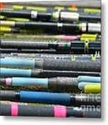 An Oars Of Course Metal Print