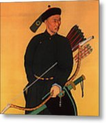 An Officer Of The Qing Army Metal Print