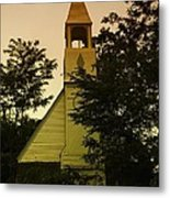 An Old Church Near Moxee Wa Metal Print
