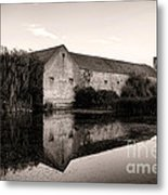 An Old Fortified Farm Metal Print by Olivier Le Queinec