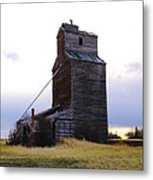 An Old Grain Elevator Metal Print