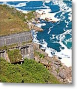 An Old  Hydroelectric Generating Station Metal Print