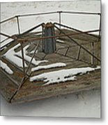 An Old Marry Go Round Metal Print