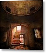 An Old Ruined Building Metal Print