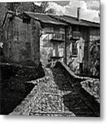 An Old Spanish Town Puente De Montanana Metal Print