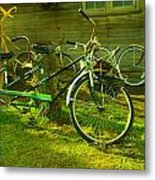 An Old Two Seater Metal Print