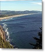An Oregon View Point Metal Print