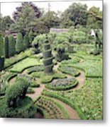 An Ornamental Garden Metal Print