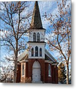Anaconda Christian Church Metal Print