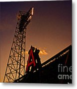 Anaheim Angels Sunset  Metal Print