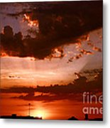 Anaheim Sunset Metal Print