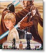 Anakin Skywaler Tatooine Metal Print