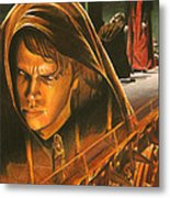Anakin Turns To The Dark Side Metal Print