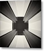 Analog Photography - Berlin Abstract Architecture Metal Print
