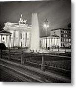 Analog Photography - Berlin Pariser Platz Metal Print