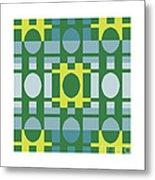 Analogous Color Harmony 1 Metal Print