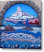 Anasazi Wall Art Metal Print by Eva Kato