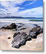 Anchor Bay New Zealand 2 Metal Print