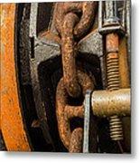 Anchor Chain - Tall Ship Elissa Metal Print