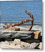 Anchor Metal Print