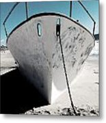 Anchored Ashore Metal Print