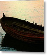 Anchored For The Day Metal Print
