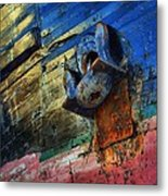 Anchored In Change Metal Print
