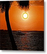 Anchored In Paradise Metal Print