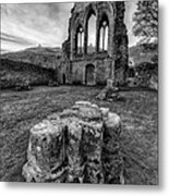 Ancient Abbey Metal Print