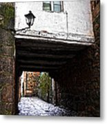 Ancient Alley In Tui Metal Print
