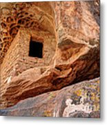 Ancient Anasazi Honeycomb Granary Ruin  Metal Print