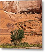 Ancient Anasazi Pueblo Canyon Dechelly Metal Print