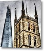 Ancient And Modern Metal Print