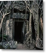 Ancient Angkor Cambodia Metal Print