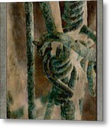 Ancient Barrier Metal Print