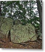 Ancient Boulders Metal Print