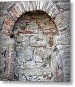 Ancient Bricked Up Window  Metal Print