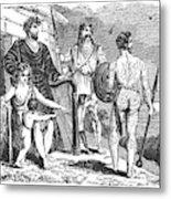 Ancient Briton, Caledonian And Irish Metal Print