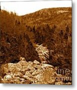Ancient Brook - Sepia Tones Metal Print