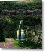 Ancient Caves And Nature Metal Print