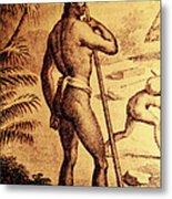 Ancient Chamorro Society 3 Metal Print
