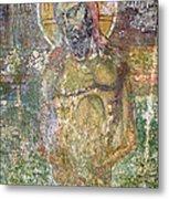 Ancient Christ Icon Metal Print