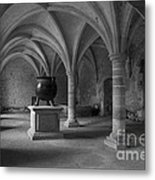Ancient Cloisters. Metal Print
