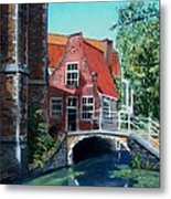 Ancient Delft Metal Print