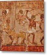 Ancient Egyptian Art Metal Print