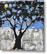 Ancient Egyptian Tree Of Life Metal Print