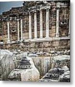 Ancient Fountain Metal Print