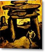 Ancient Grunge Metal Print