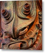 Ancient Indian Artifact Metal Print