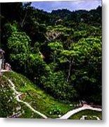 Ancient Maya Ruins Metal Print